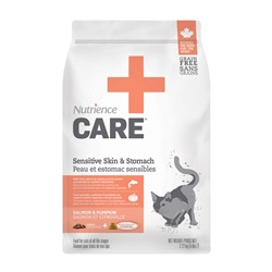 Nutrience Care Sensitive Skin & Stomach for Cats - 2.27 kg (5 lbs)