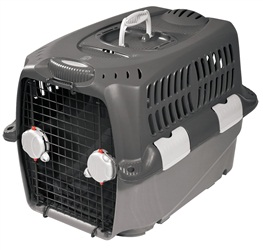 "Dogit Design Cargo Dog Carrier - Gray - Small - 68 cm L x 49 cm W x 48 cm H ( 27"" x 19.5"" x 19"")"