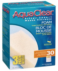 AquaClear 30 Foam Filter Insert - 3 pack