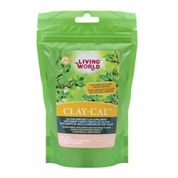 Living World Clay-Cal Calcium Enriched Clay Supplement for Birds - 250 g (0.55 lb)