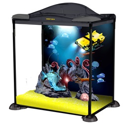 Marina Deep Sea Explorer Aquarium Starter Kit - 17 L (4.5 US gal)