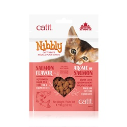 Catit Nibbly Cat Treats - Salmon Flavour - 90 g (3.2 oz)