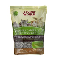 Living World Biodegradable Litter for Small Animals - 10 L (610 cu in)