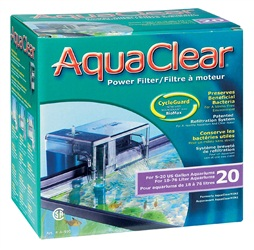 AquaClear 20 Power Filter, 76 L (20 US gal.)
