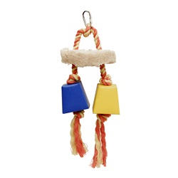Living World Festive Favors, Rope - Wood & Paper Box Toy - 23 cm
