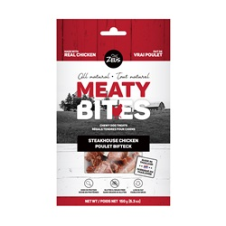 Zeus Meaty Bites Chewy Dog Treats - Steakhouse Chicken - 150 g (5.3 oz)