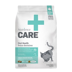 Nutrience Care Oral Health for Cats - 3.8 kg (8.4 lbs)