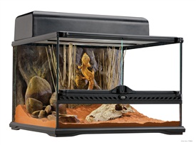"Exo Terra Natural Terrarium - Advanced Reptile Habitat, Low 18"" x 18"" x 12"""