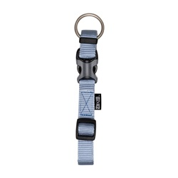 "Zeus Adjustable Nylon Dog Collar - Baby Blue - Small - 1 cm x 22 cm-30 cm (3/8"" x 9""-12"")"