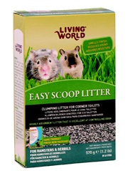 Living World Easy Scoop Litter - 570 g (1.2 lbs)