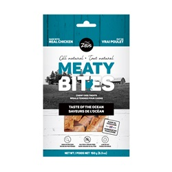 Zeus Meaty Bites Chewy Dog Treats - Taste of the Ocean