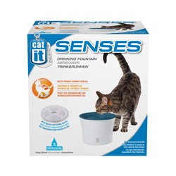 Catit Design Senses Drinking Fountain With New Water Softening Filter