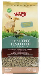 Living World Healthy Timothy Formula For Rabbits - 1.8 kg (4 lb)