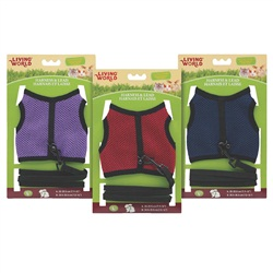 Living World Large Harness and Lead Set - Assorted Colors - Large