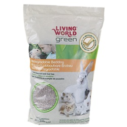 Living World Green Biodegradable Bedding - 20 L (1220 cu in)
