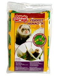 Living World Ferret Hammock - Green - Small - 41 cm (16 in)