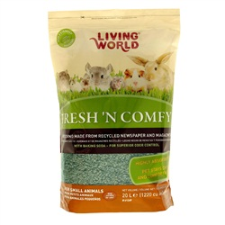 Living World Fresh 'N Comfy Bedding - 20 L (1220 cu in) - Green