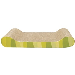Catit Style Patterned Cat Scratcher with Catnip - Jungle Stripes - Lounge
