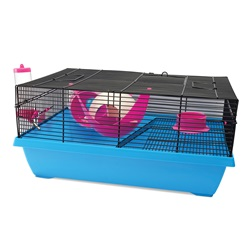 Living World Dwarf Hamster Cage - Hangout - 51 cm L x 36.5 cm W x 29 cm H (20 x 14.3 x 11.4 in)