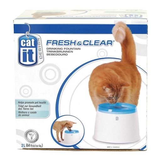 50053 Catit Design Fresh Amp Clear Cat Drinking Fountain