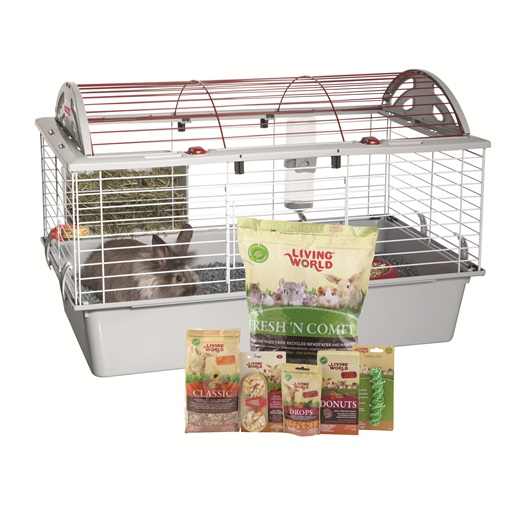Living World has a starter kit for a variety of small animals.