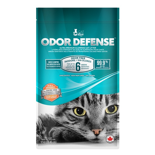 36901 Cat Love Odor Defense Unscented Premium Clumping