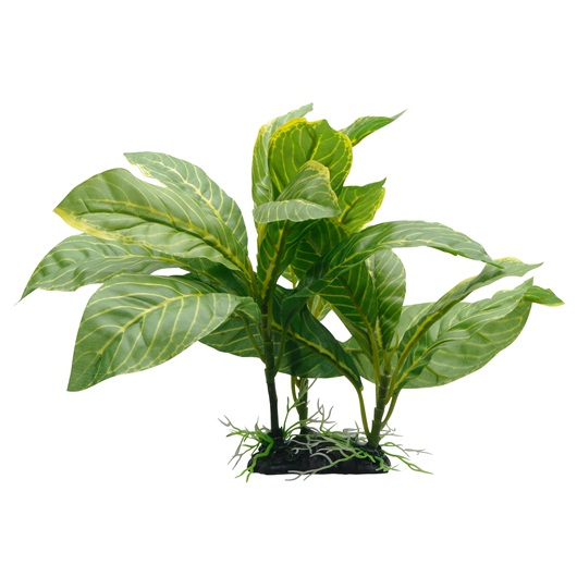 pp1609 fluval decorative plants yellow stripe