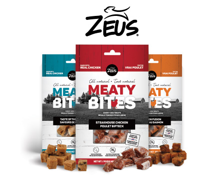 Zeus Meaty Bites Chewy Dog Treats