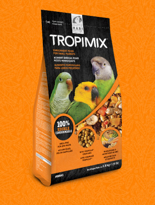 Tropimix: Enrichment food for small Parrots