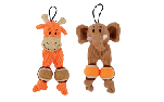 Zeus Mojo Naturals Mini Tennis Totz - Elephant or Giraffe - Assorted