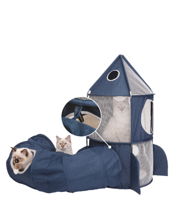For real astro-cats! Expand your cat's space station with the Vesper Tunnel! #41995, #41996