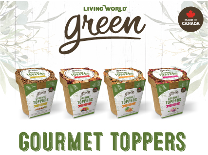 Living World Green Gourmet Toppers