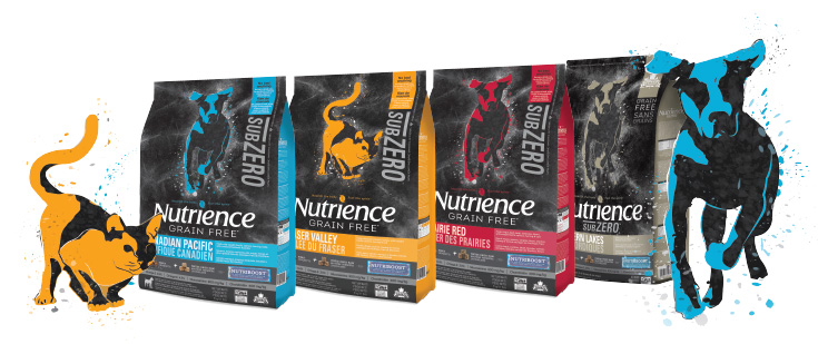 Nutrience Sub-zero group shot