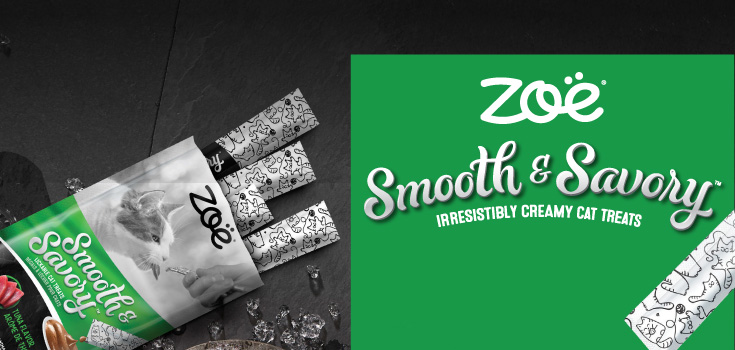 Zoë Smooth and Savory - Irresistibly creamy cat treats