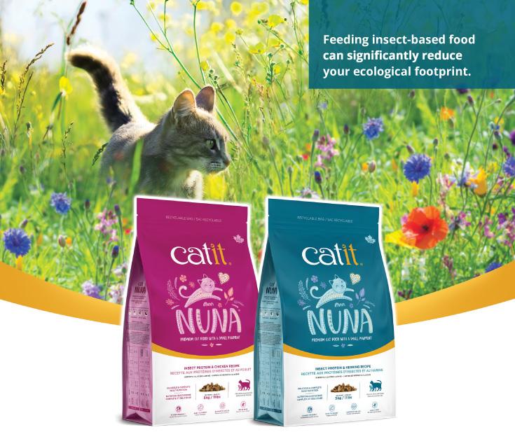 Catit Nuna – Insect-based Cat Food
