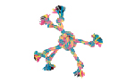 Zeus Mojo Brights Rope Spider Ball