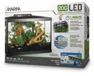 Marina 20G LED Glass Aquarium Kit - 75 L