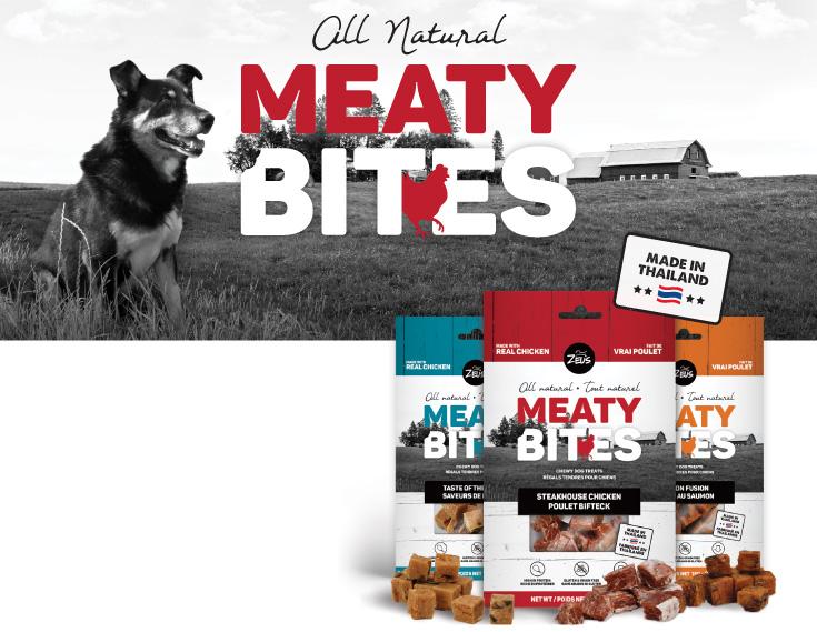 Zeus All natural Meaty Bites
