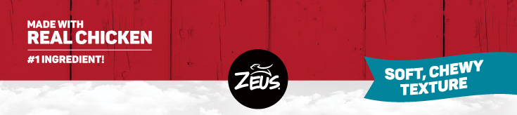 Zeus Meaty Bites - Made with Real chicken