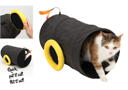 Catit Play Pirates Cat Cannon Tunnel