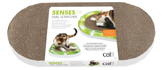 Catit Senses 2.0 Oval Circuit Scratcher