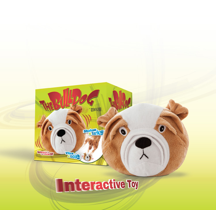 BullDog by Zeus - Interactive toy