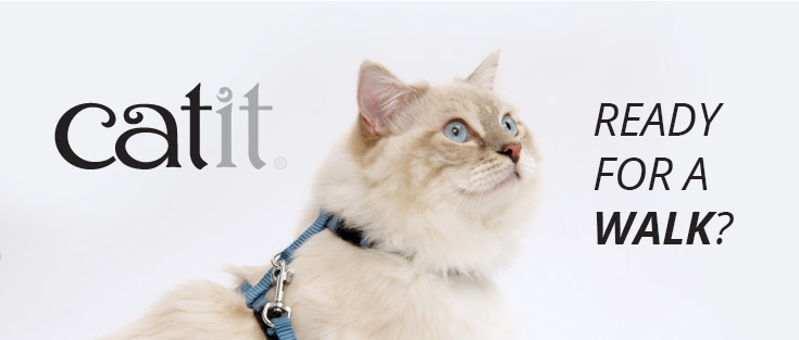 Catit Collars, harnesses and leashes
