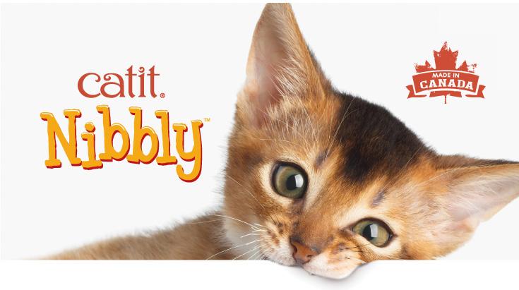 Catit Nibbly cat treats