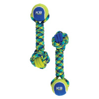 K9 Fitness by Zeus Rope and TPR Tennis Ball Dumbbell
